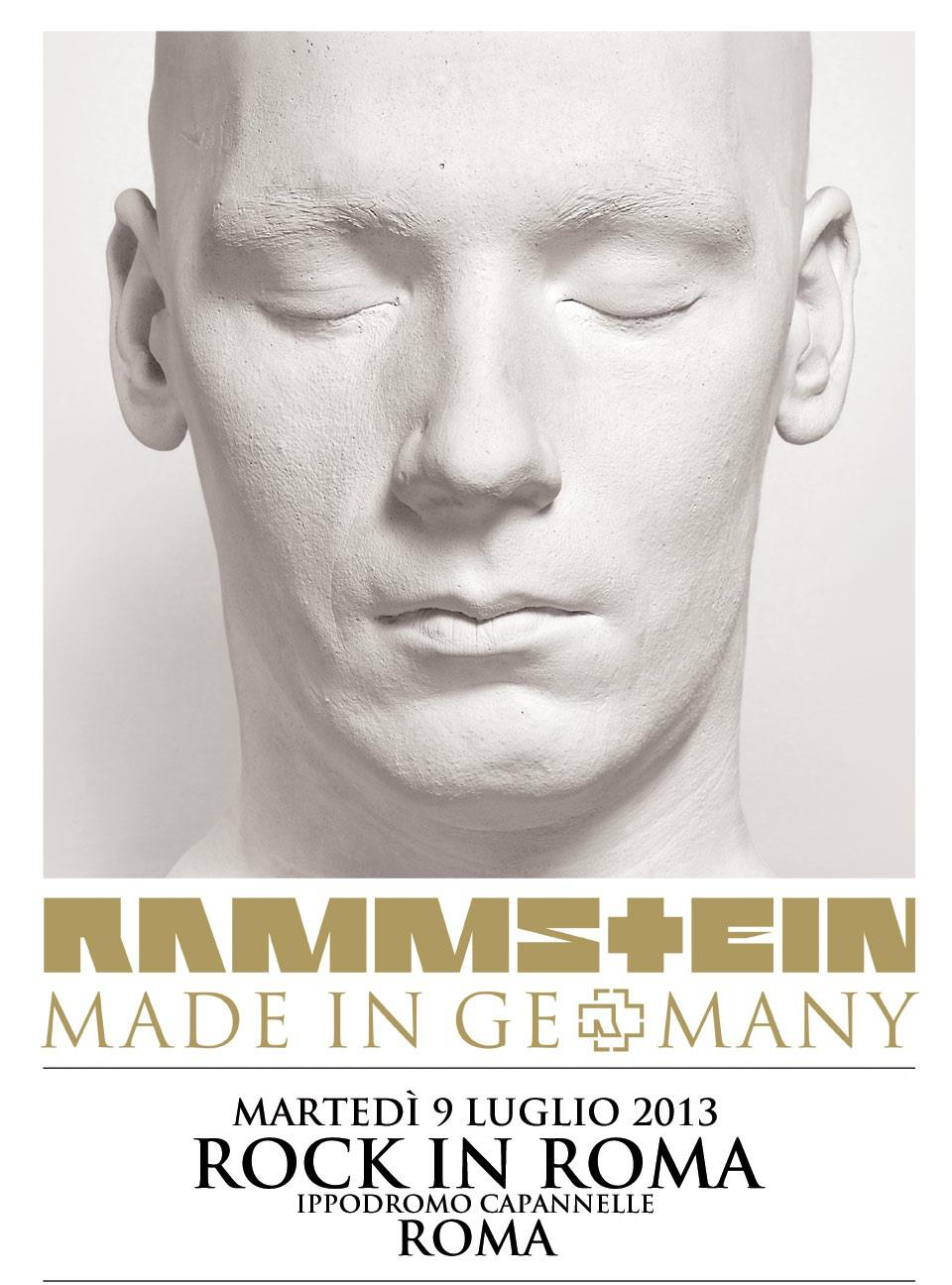Rammstein: Made In Germany Tour 2013