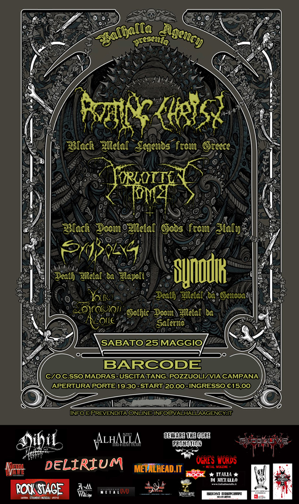 Rotting Christ+Forgotten Tomb+guests