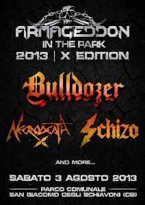 aSchizo: reunion all'Armageddon in The Park