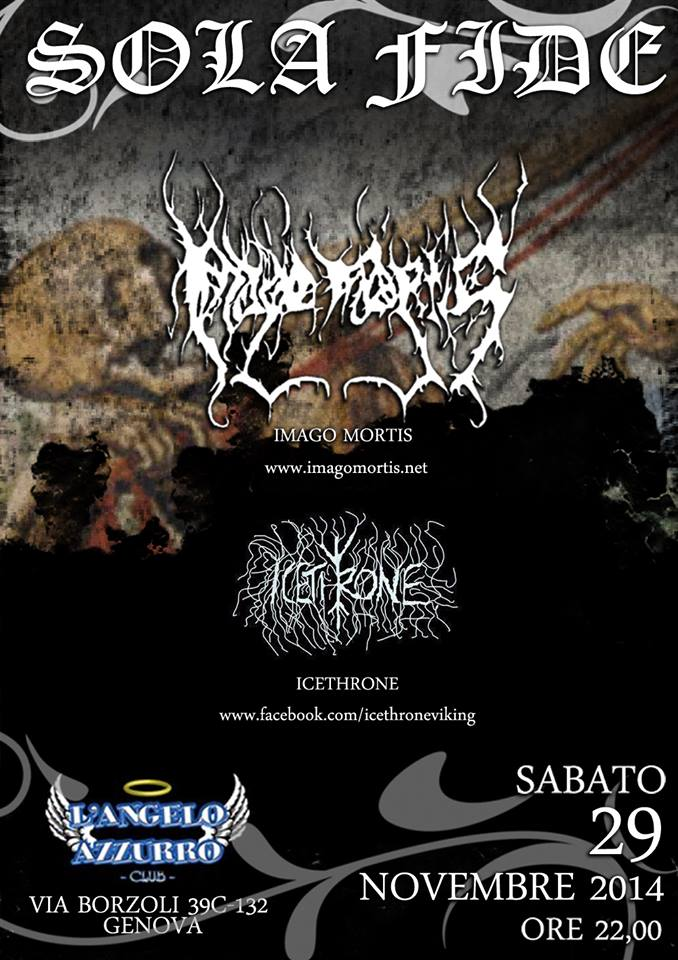 Sola Fide: Extreme Metal Night